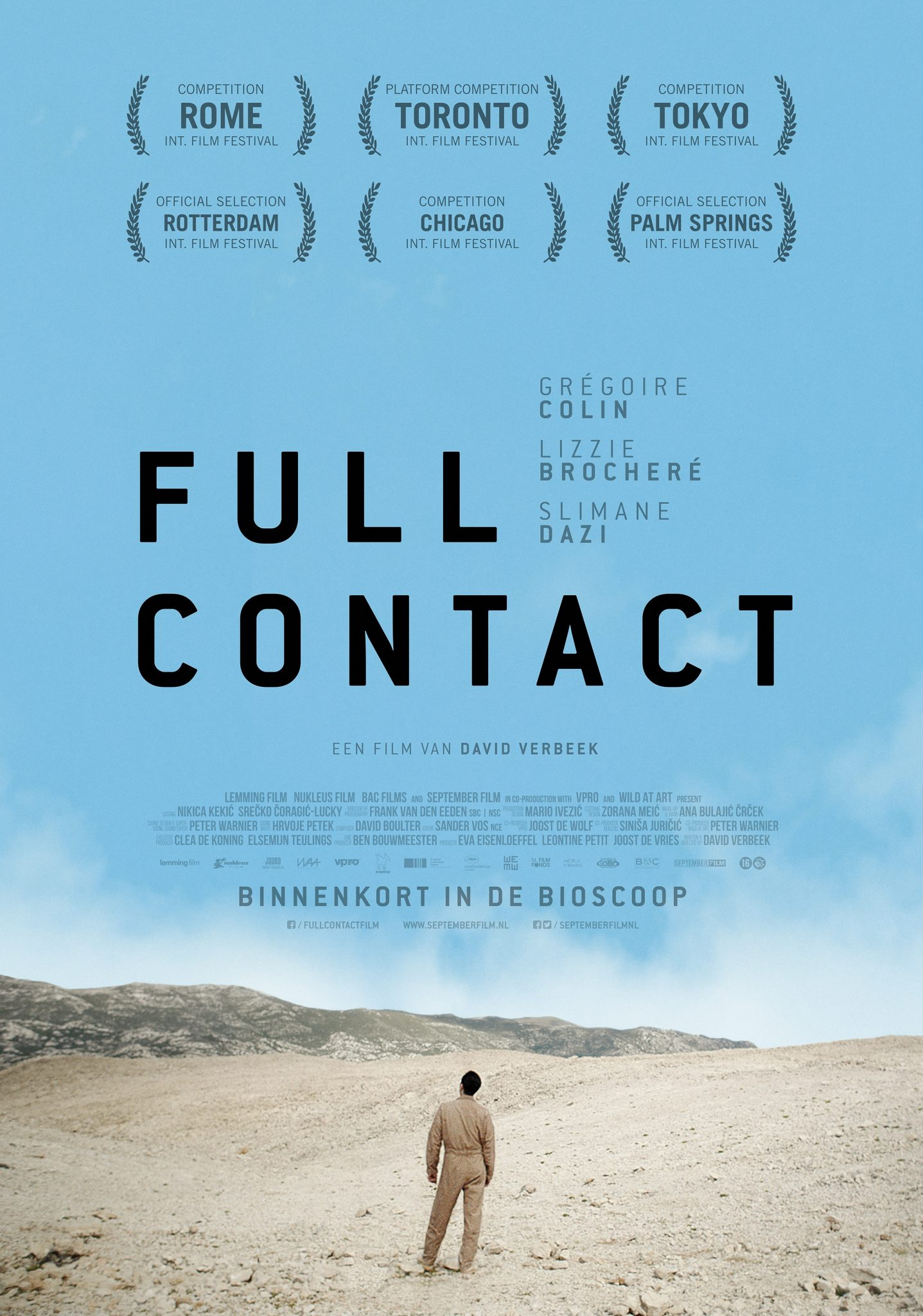 Full Contact Filmposter
