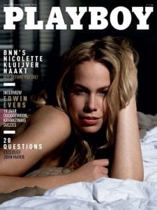 Nicolette Kluijver Playboy Naakt