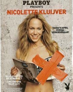 Nicolette Kluijver Naakt